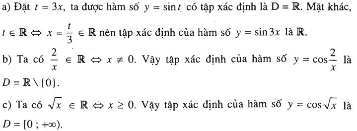 bài tập ví dụ hàm số lượng giác
