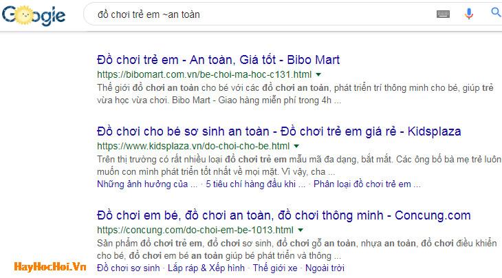 cách tìm kiếm từ khóa liên quan trên google