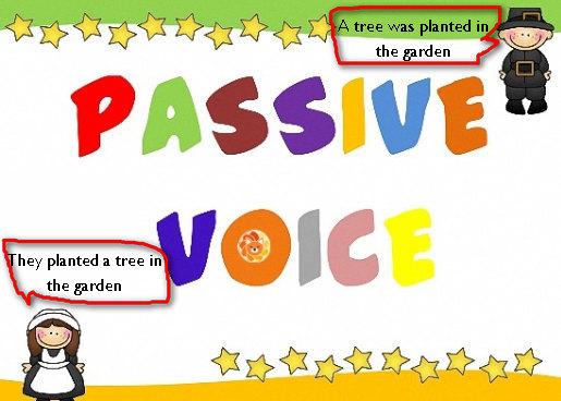 câu bị động passive voice