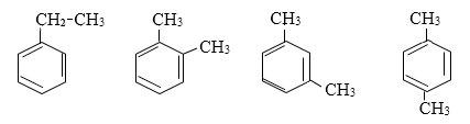 các đồng phân hidrocacbon thơm của c8h10