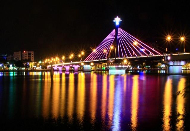 Han River in danang