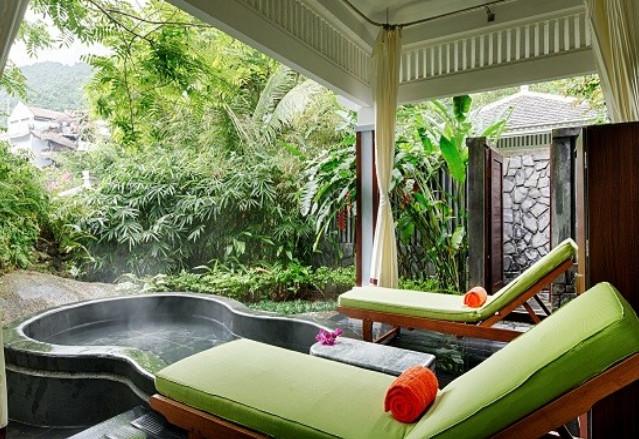 Nui Than Tai Hot Springs Park in Danang