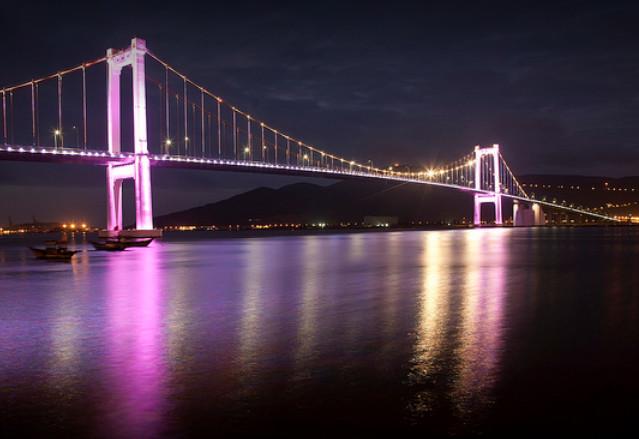 thuan phuoc bridge in danang