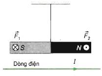 Lực từ do dòng điện tác dụng lên nam châm