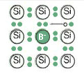 Nguyên tử hợp chất hóa trị 3 B