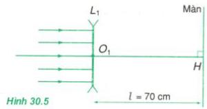 hình 30.5 trang 195 sgk vật lý 11