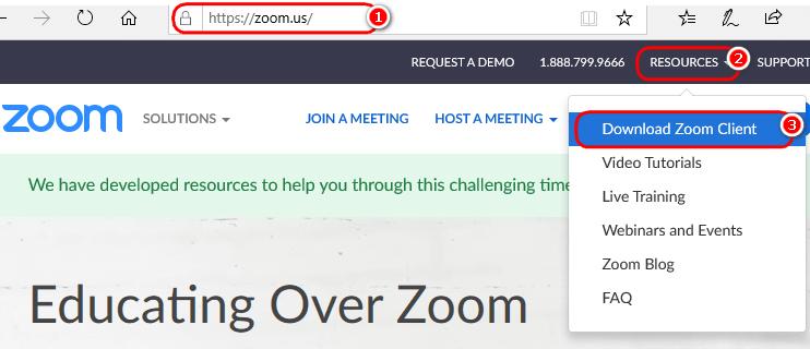cách tải ứng dụng zoom trên máy tính PC