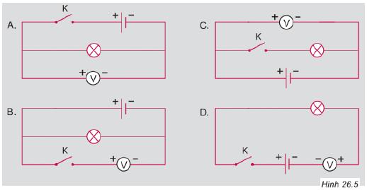 mạch điện hình 265 câu c7 trang 74 sgk vật lý 7