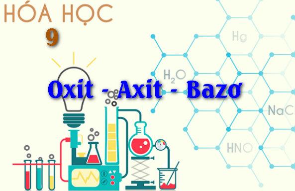 tính chất hóa học của oxit axit bazo và muối