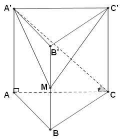 lăng trụ có đáy là tam giác đều