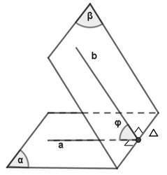 cách tính góc giữa hai mặt phẳng