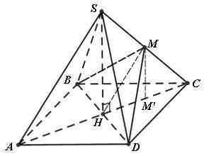 Xác định góc giữa hai mặt phẳng