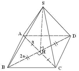 cách tính góc giữa đường thẳng và mặt phẳng vd4