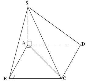 tính góc giữa đường thẳng và mặt phẳng vd5
