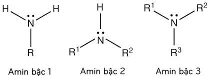 công thức cấu tạo của amin