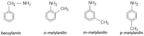 công thức cấu tạo của amin có vòng benzen