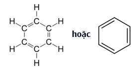 công thức cấu tạo của benzen c6h6