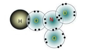 công thức electron của axit nitric HNO3