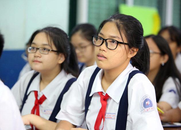 đề thi tuyển sinh lớp 10 tăng tính thực tiễn